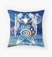 Pagan Art. Sternengöttin mit Wasser und Sternen. Dekokissen