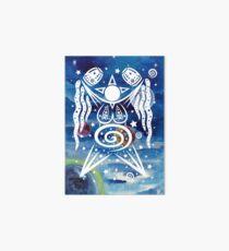 Pagan Art. Sternengöttin mit Wasser und Sternen. Galeriedruck
