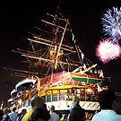 Tall ships 12 fireworks by Monica Di Carlo