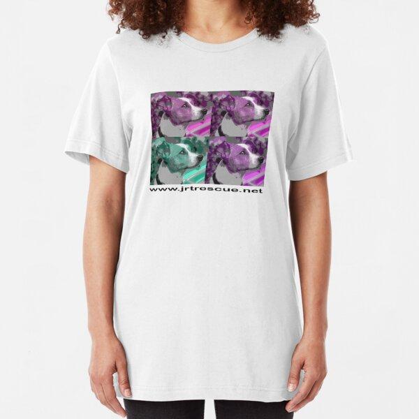 Faith Popyula TShirt for light backgrounds Slim Fit T-Shirt