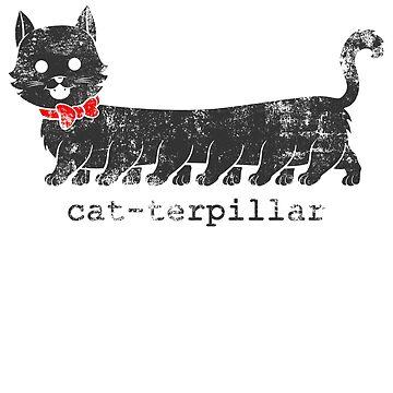 Cat-terpillar (dark) by jcmaziu