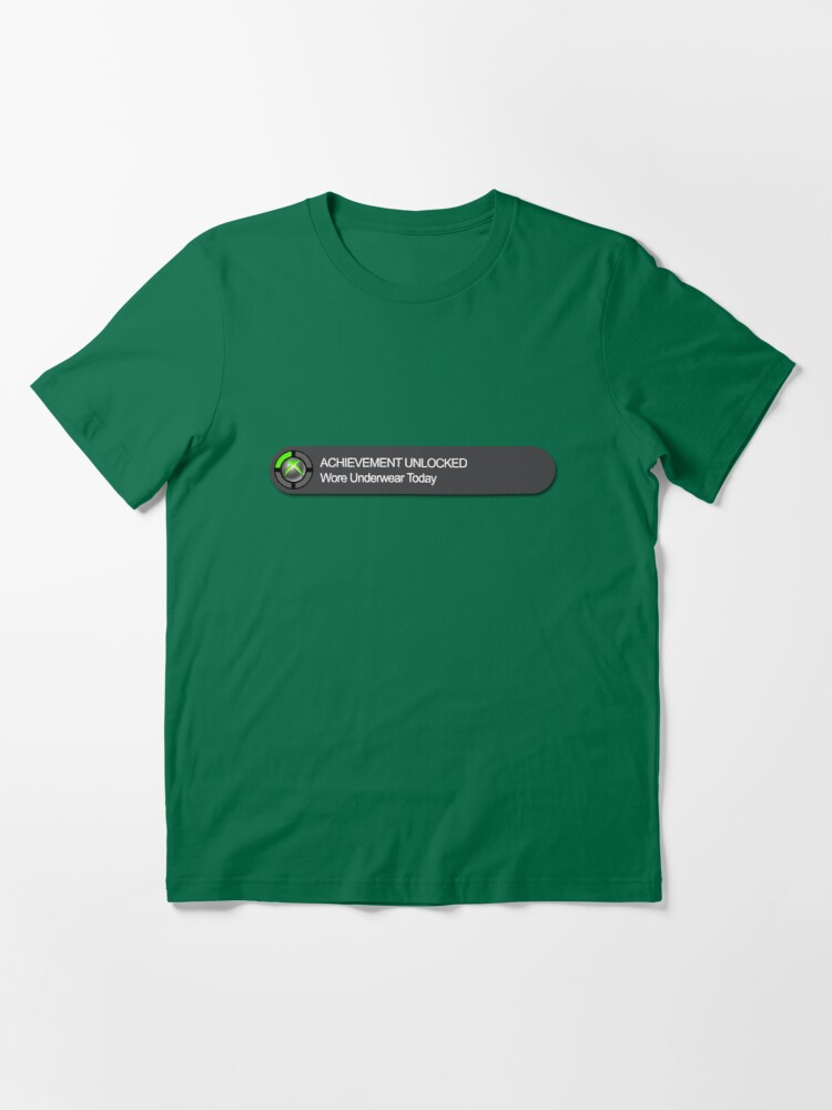 Alternate view of Xbox 360 Achievement Unlocked Essential T-Shirt