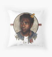 childish gambino - comedian singer Throw Pillow