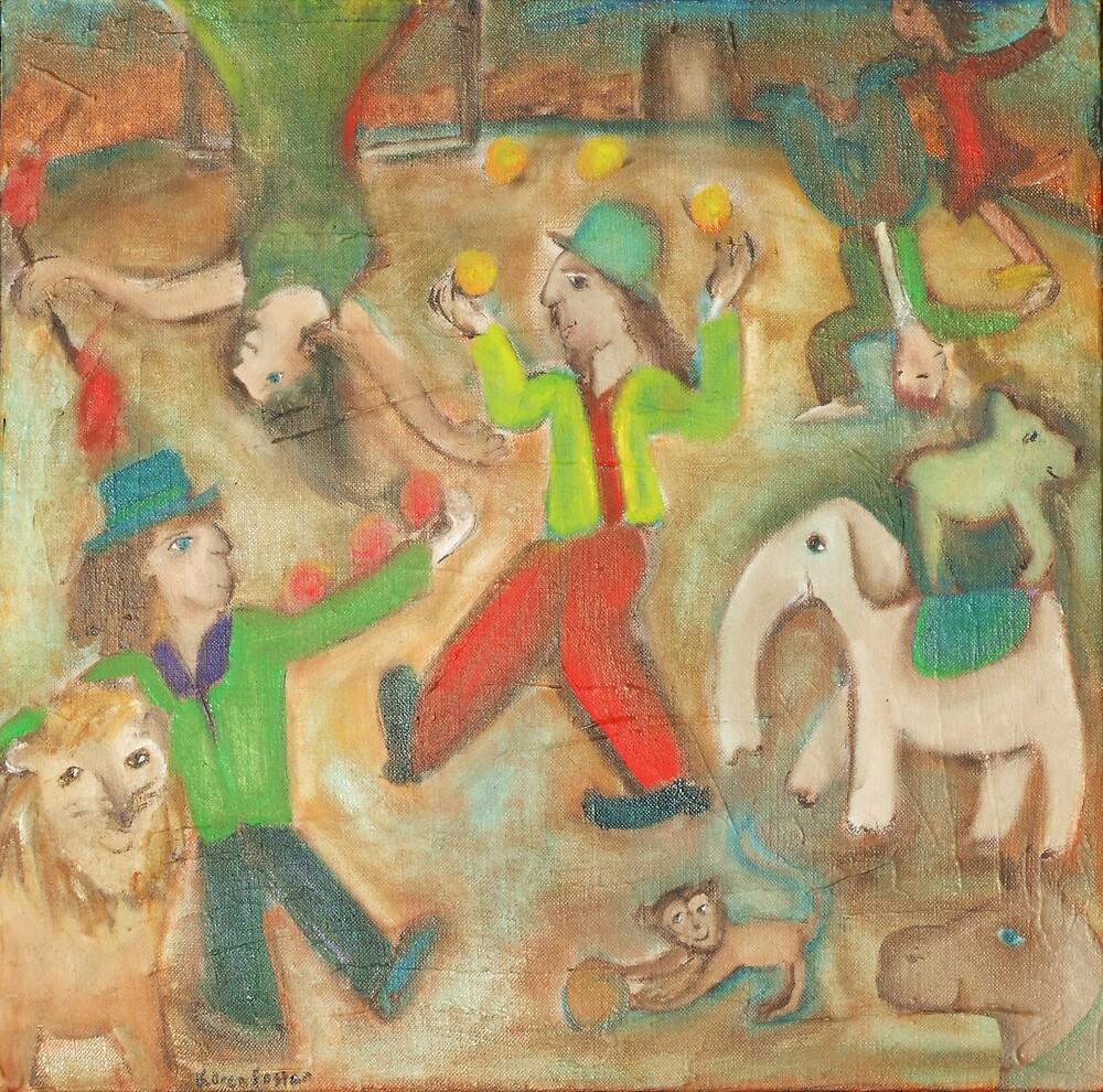 Chagalls Circus by KarenFoster