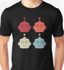 Retro Robot Icons Unisex T-Shirt