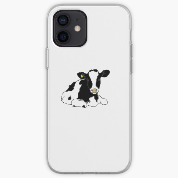 Holstein Heifer iPhone Soft Case