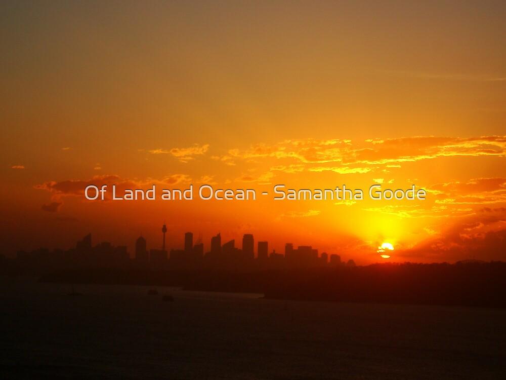 Sunset over Sydney by Of Land & Ocean - Samantha Goode