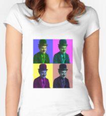 Chaplin Chaplin Chaplin Chaplin Women's Fitted Scoop T-Shirt