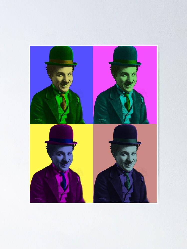 Vista alternativa de Póster Chaplin Chaplin Chaplin Chaplin