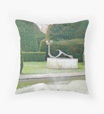The Topiary Gardens Throw Pillow