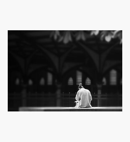 CONTEMPLATE Photographic Print