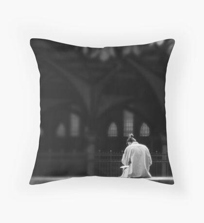 CONTEMPLATE Throw Pillow