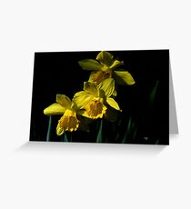 Golden Bells Greeting Card