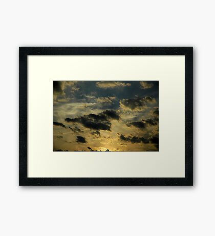 The Dark Night of the Soul Framed Print