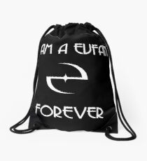 I AM A EVFAN Drawstring Bag