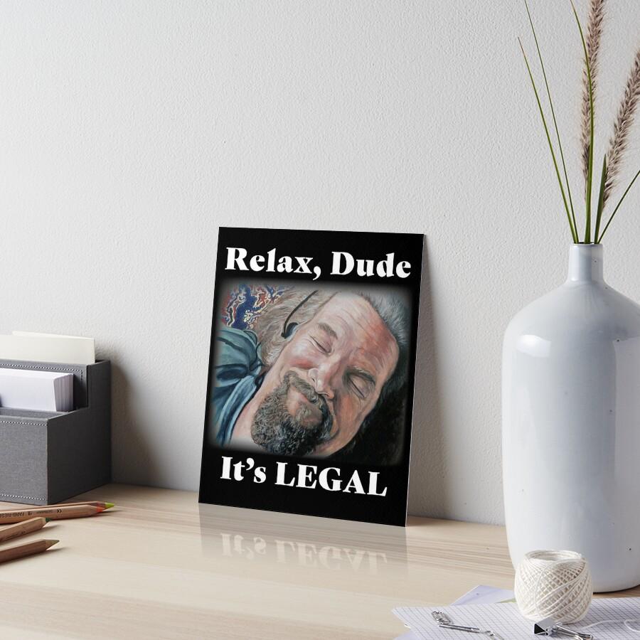 Relax Art Board Print