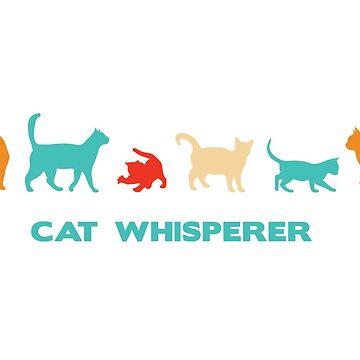 Cat Whisperer Mug by MazzaLuzza