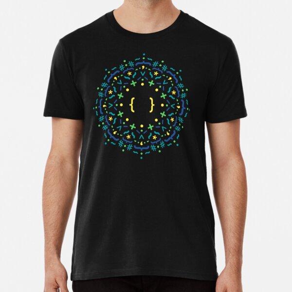 Code Mandala - CSS Premium T-Shirt