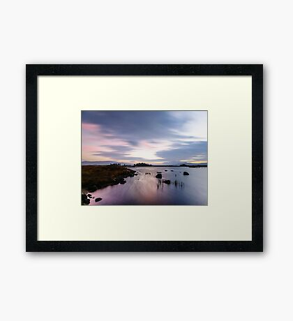 Pink and Purple Dawn Framed Print