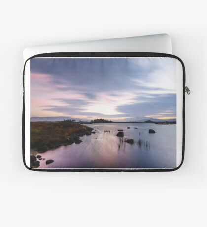 Pink and Purple Dawn Laptop Sleeve