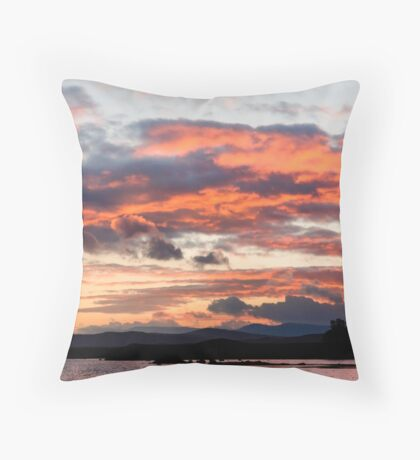 Tongue Of Fire Throw Pillow