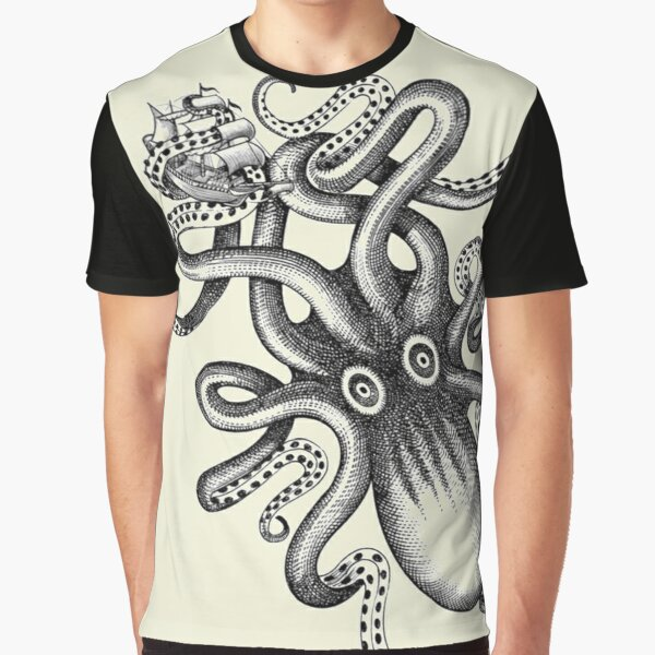 The big squid Graphic T-Shirt