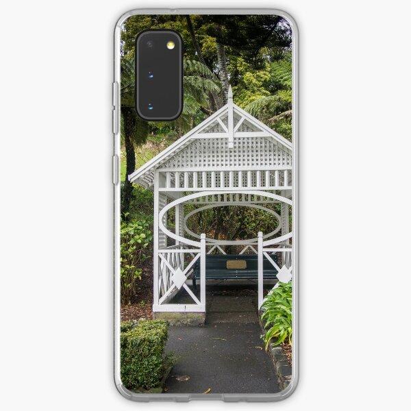 Botanical Gardens Gazebo Samsung Galaxy Soft Case