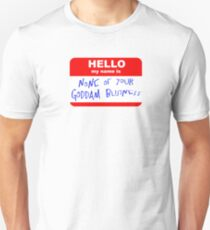 Service with a smile Unisex T-Shirt