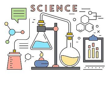 Wissenschaft Vektor Icons Elemente von simbamerch