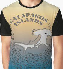 Hammerhead Shark Galapagos Graphic T-Shirt