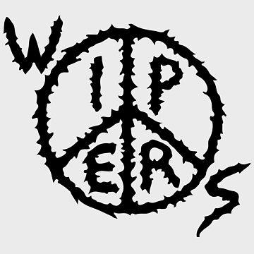 Wipers Logo Black on transparent (punk band) by reydefine