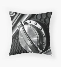 Gas Cap Throw Pillow