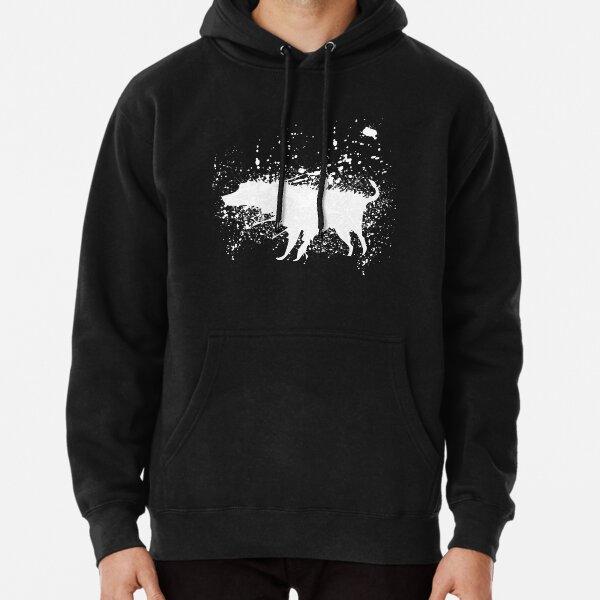 Banksy Splash Dog  Pullover Hoodie