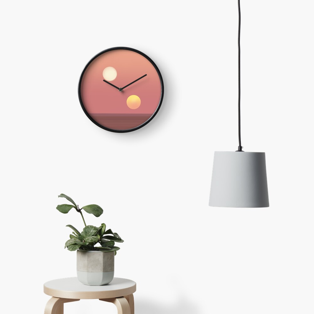 two suns Clock