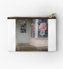 Rainy Day Ice-Cream Shop Studio Pouch