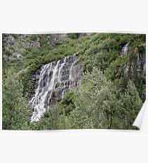 Stair Step Waterfall - 12771 Poster