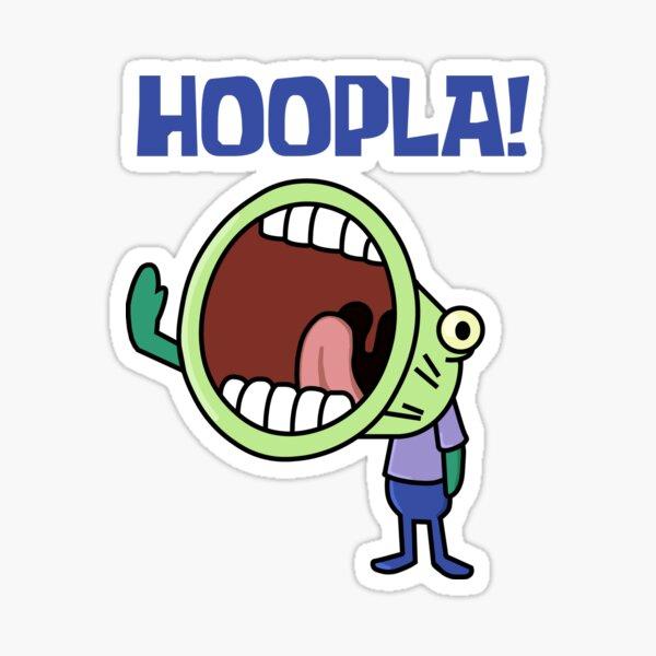 Hoopla!  Sticker