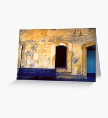 San Juan, Puerto Rico. Greeting Card