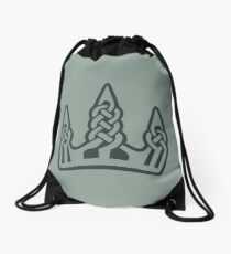 Winterhold · Black Emblem Drawstring Bag