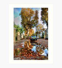 Autumn approaches Art Print