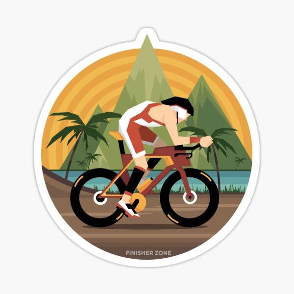 Kona Triathlete Sticker