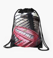 London Telephone Drawstring Bag