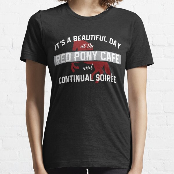 Longmire Red Pony Cafe Essential T-Shirt