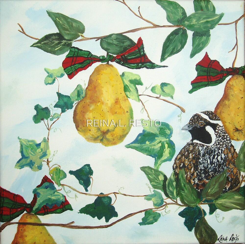 Partridge in a Pear Tree by REINA.L. RESTO