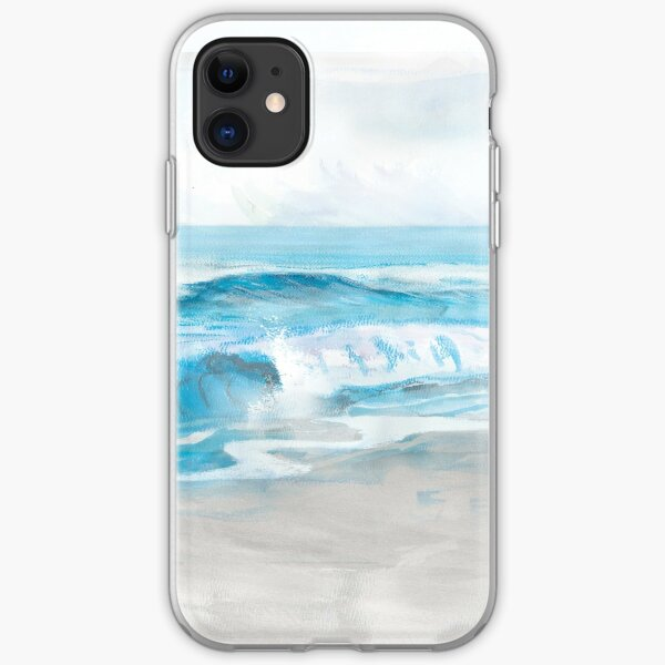 Blue Surf iPhone Soft Case