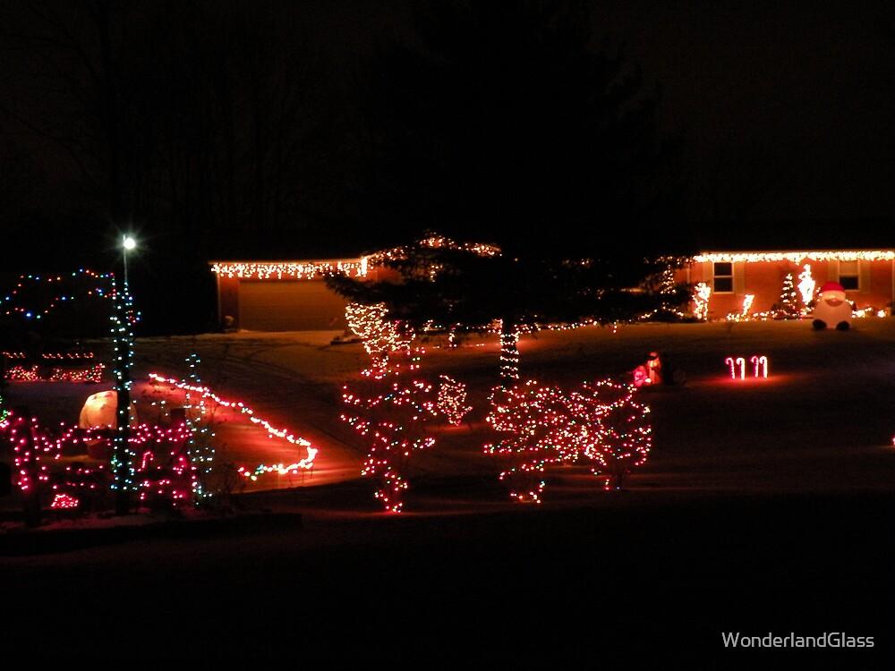we'll just put up a few little lights... by WonderlandGlass
