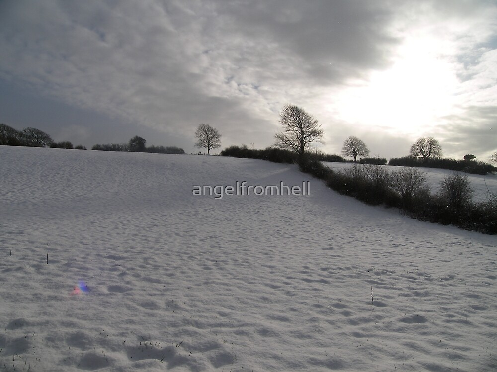 snow field by angelfromhell