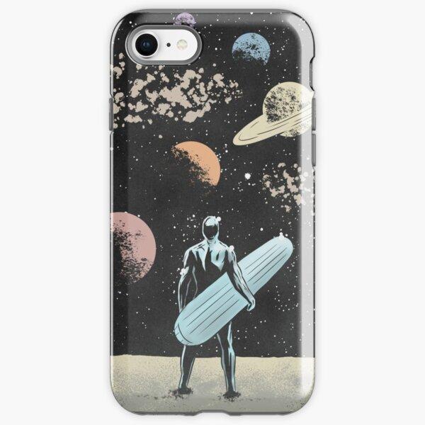 Silver Surfer iPhone Tough Case
