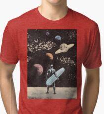 Silver Surfer Tri-blend T-Shirt