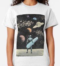 Silberner Surfer Classic T-Shirt